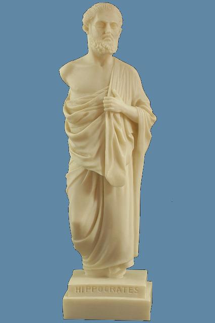 Statue Hippocrates